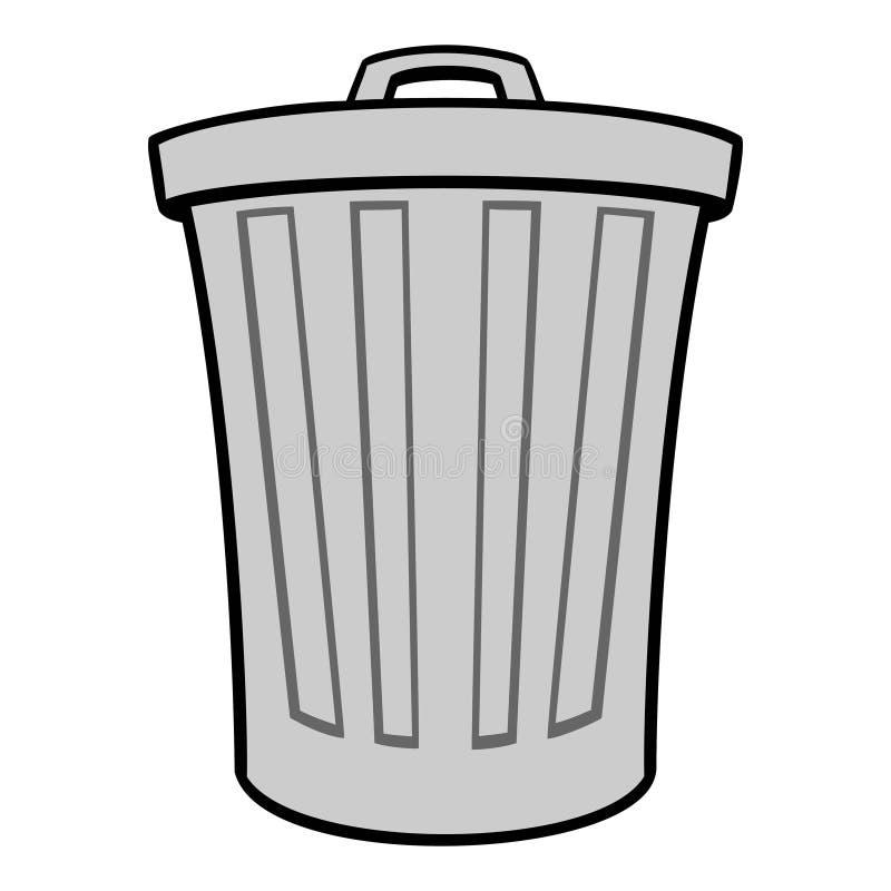 Trash Can stock illustration