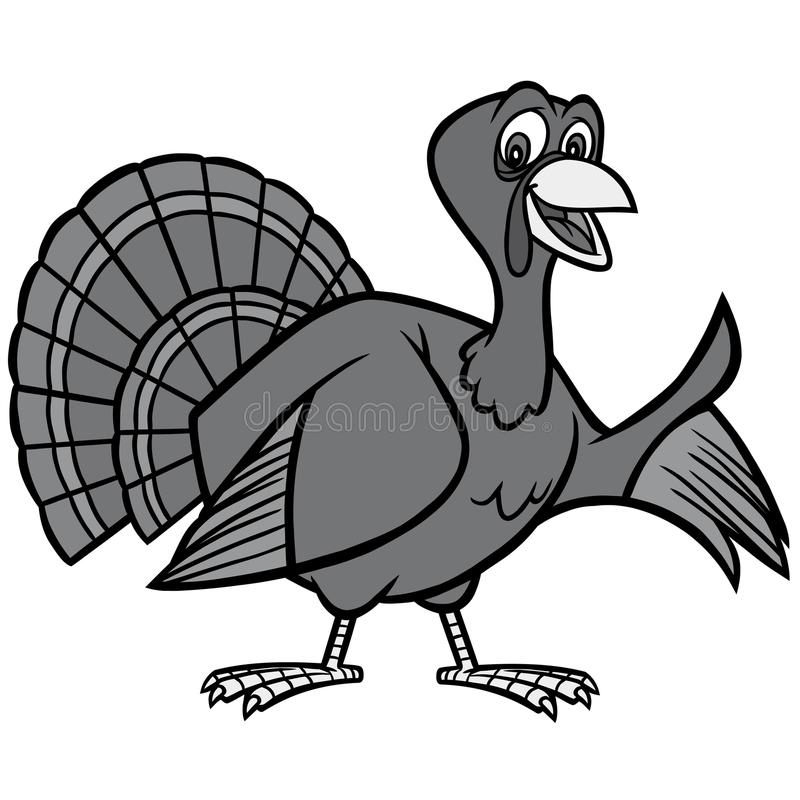 Thanksgiving Turkey Illustration vector illustration