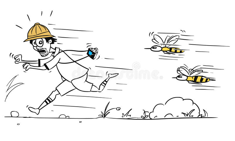 Running Bee Stock Illustrations – 83 Running Bee Stock Illustrations,  Vectors & Clipart - Dreamstime