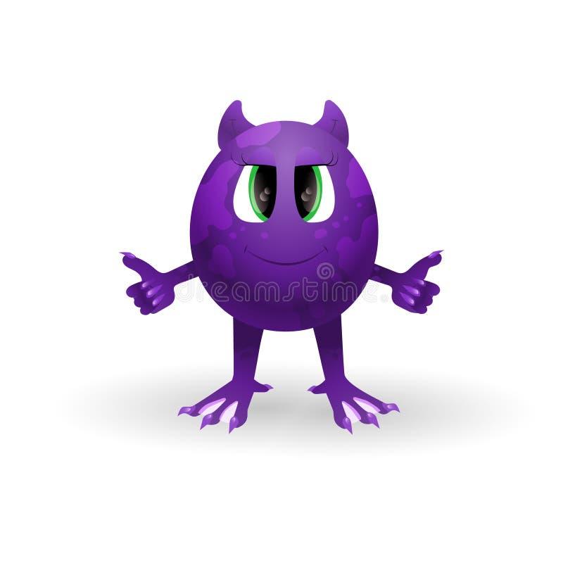 Vector Cartoon Monster Stock Illustration Illustration Of Happy
