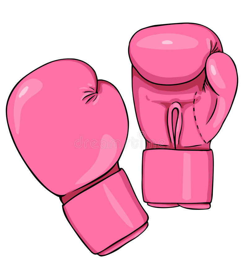 vector cartoon pink boxing gloves stock illustration boxing gloves clip art pink boxing gloves clip art images