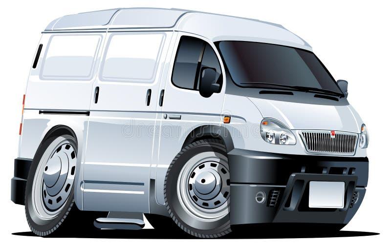 Download Vector cartoon van stock vector. Image of tire, isolated - 16592124