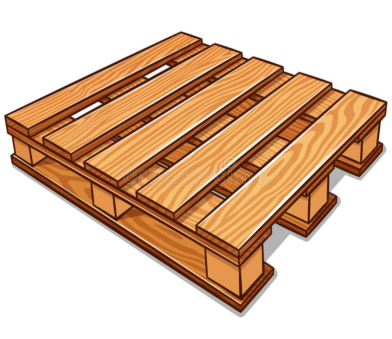 Wood Pallets Vector Stock Illustrations - 137 Wood Pallets ...