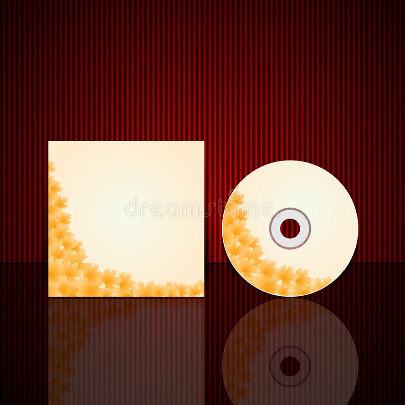 Download Vector Cd Cover Design Template Stock Vector - Image: 36923459