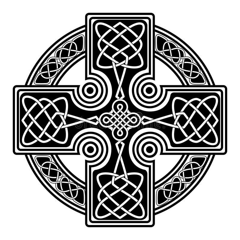 Vector Celtic Cross Stock Vector Illustration Of Ancient 108147075