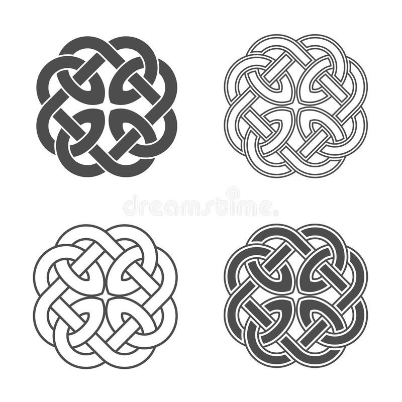 Free Vector Celtic Knot. Ethnic Ornament. Royalty Free Stock Images - 92035669