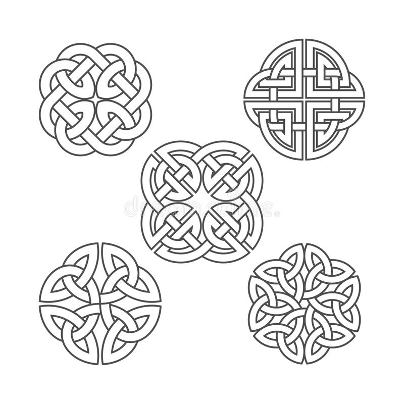 Free Vector Celtic Knot. Ethnic Ornament. Royalty Free Stock Photo - 92177325