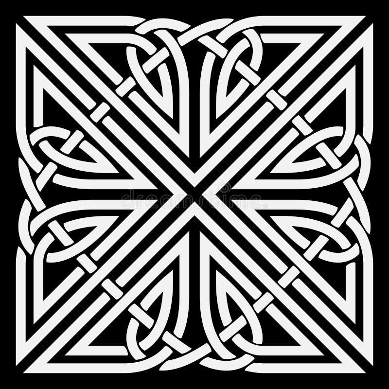 Vector celtic ornament stock illustration