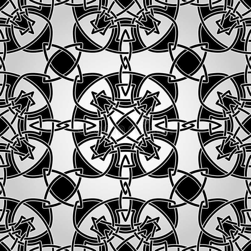 Vector Celtic Seamless Pattern vector illustration