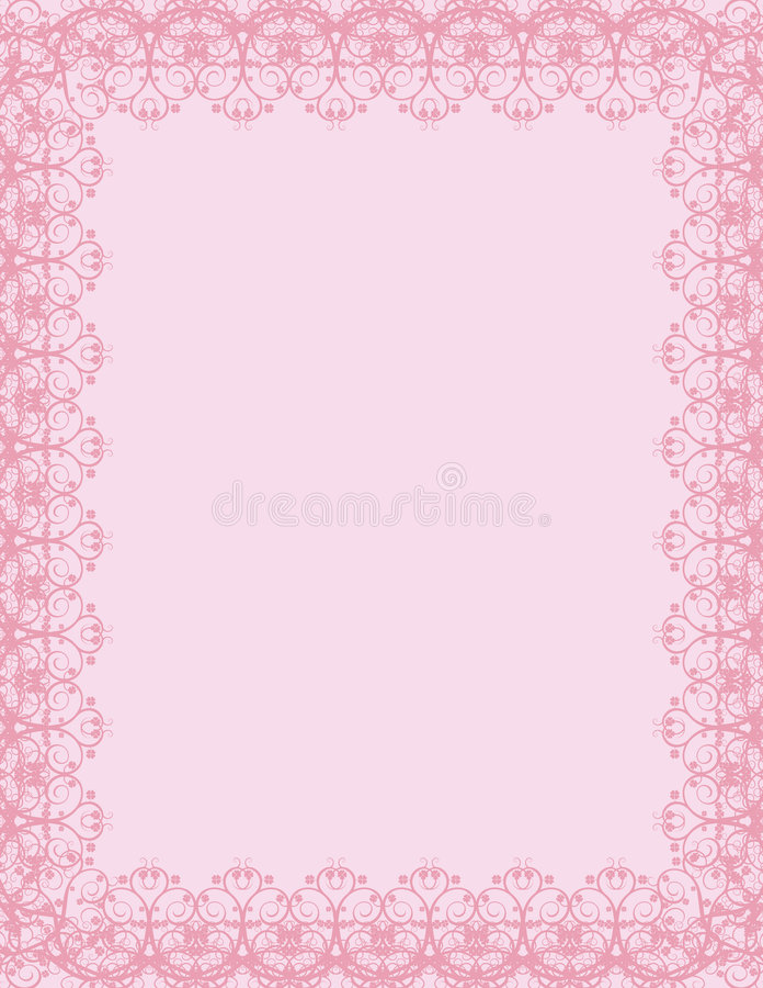 Vector certificaatachtergrond royalty-vrije illustratie