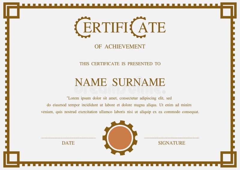 Vector certificate template stock vector illustration 63741448 download vector certificate template stock vector illustration 63741448 yelopaper Gallery
