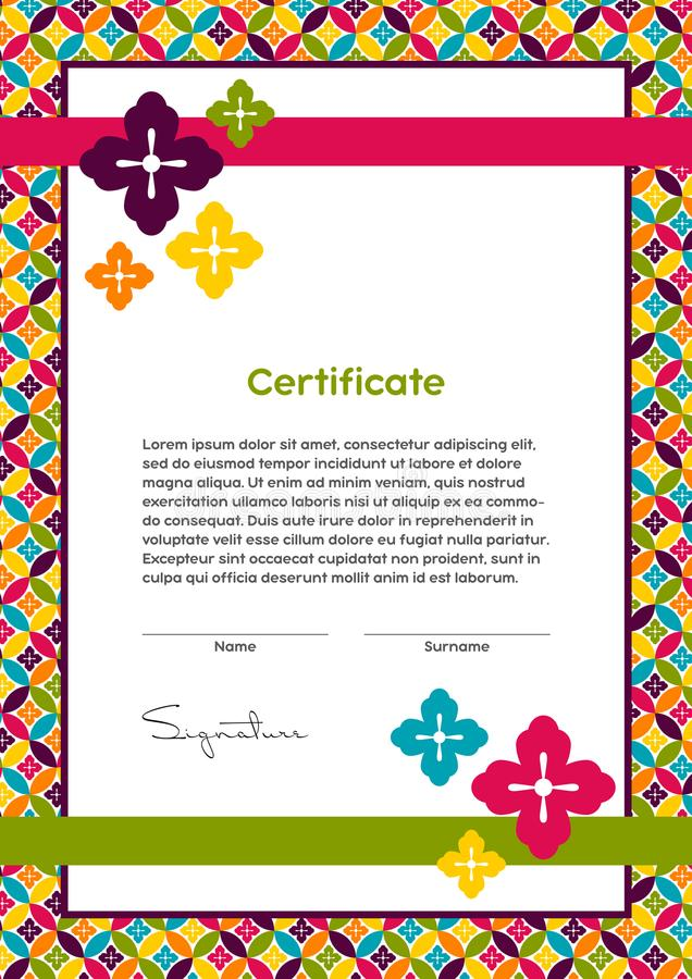 Vector certificate template japanese modern style beauty salon download vector certificate template japanese modern style beauty salon yoga spa yadclub Image collections