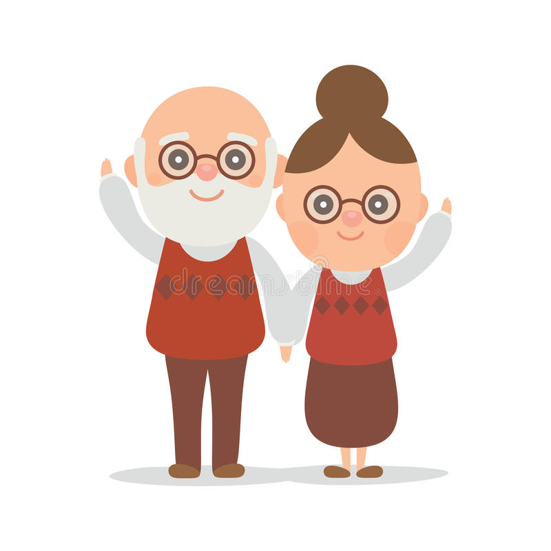 Vector character design cute stock image