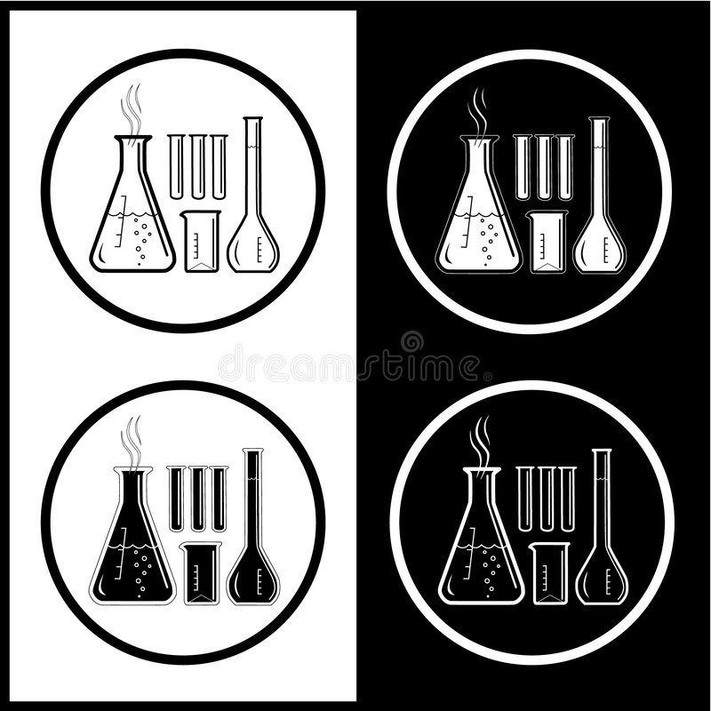 Download Vector Chemical Test Tubes Icons Stock Vector - Image: 7555306