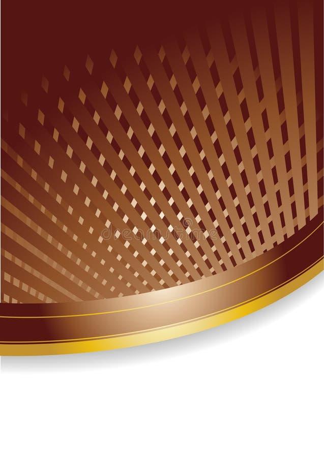 Vector chocolate background stock photo