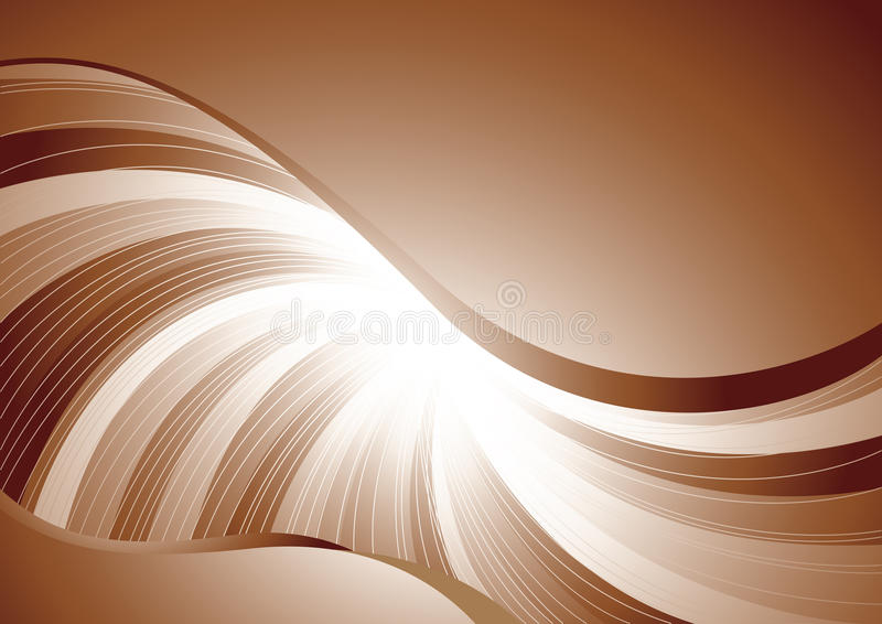 Vector chocolate background stock photography