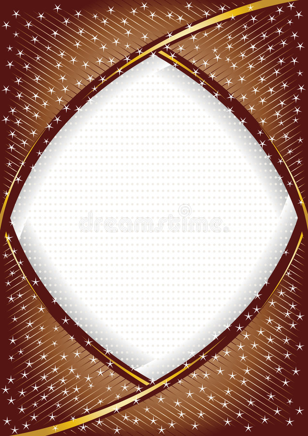 Download Vector Chocolate Background With Star Stock Vector - Illustration: 8785233