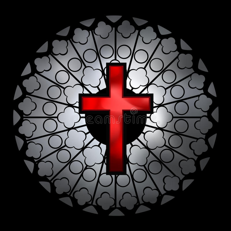 Download Vector Christian Church Window Illustration Stock Vector - Illustration of sacred, christian: 12490812