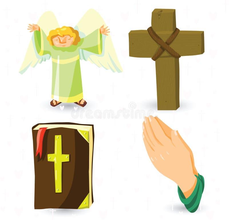 Download Vector christian symbols stock vector. Illustration of jesus - 26249552