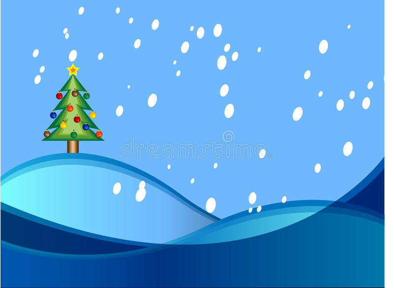 Vector Christmas Background royalty free illustration
