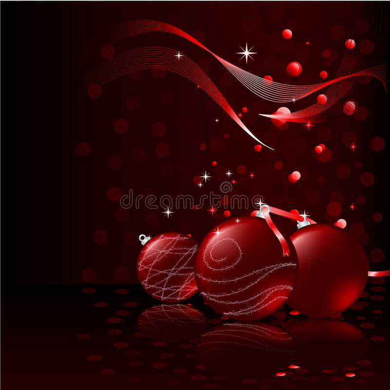 Download Vector Christmas Balls stock vector. Image of cold, design - 12852820