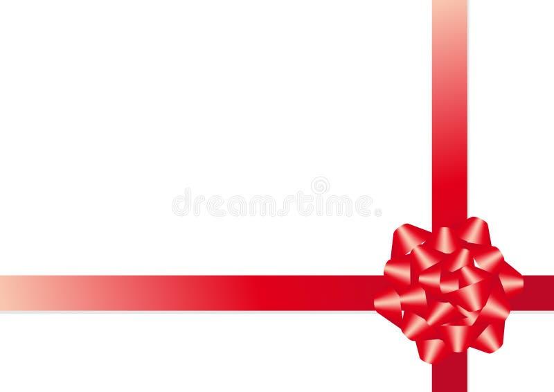 Vector christmas bow