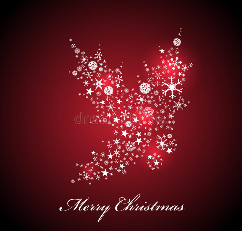 Download Vector Christmas card stock vector. Image of picture - 27534754
