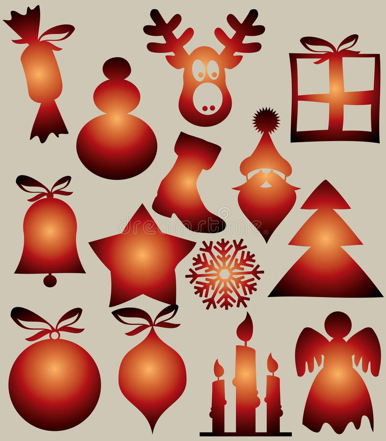 Free Vector Christmas Design Royalty Free Stock Images - 34718439