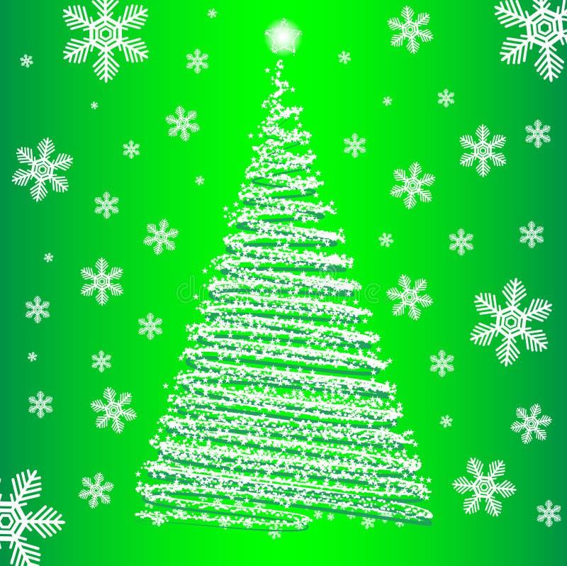 Download Vector christmas fur-tree. stock vector. Image of paper - 17318811