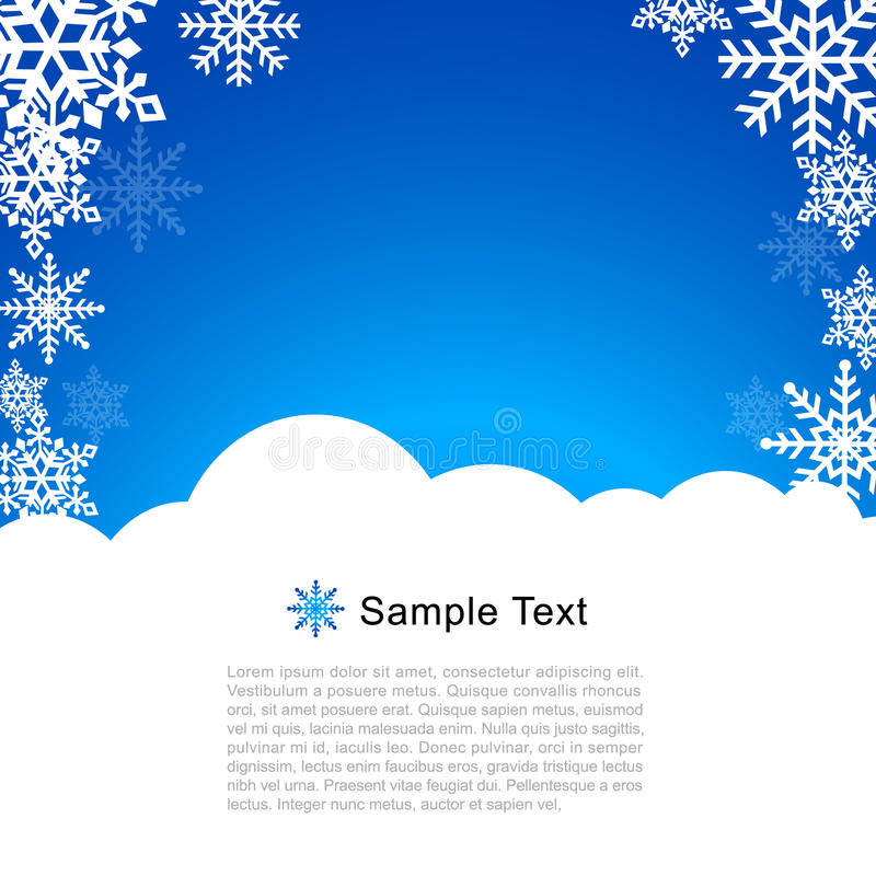 Vector Christmas Greeting Card Royalty Free Stock Photo