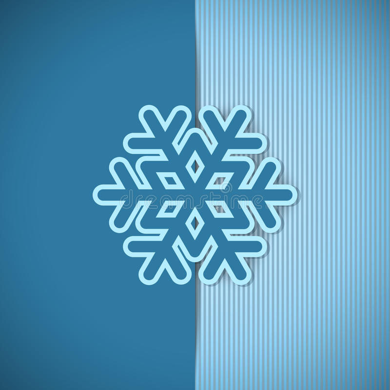 Vector Christmas Greeting Card. Stock Images