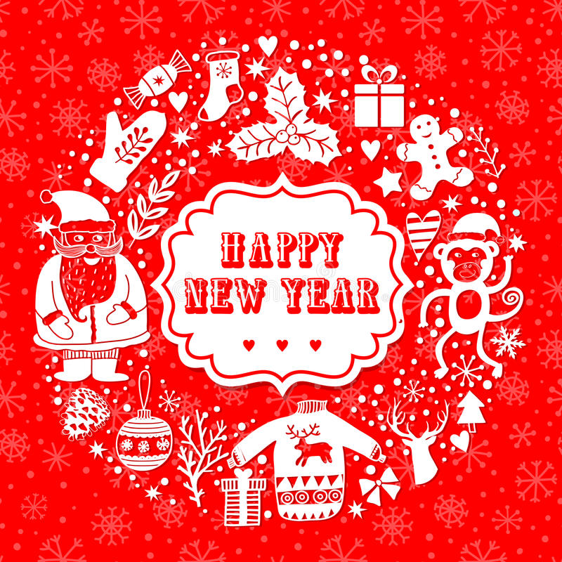 Vector circular wreath christmas greeting card template merry download vector circular wreath christmas greeting card template merry christmas winter holiday design m4hsunfo Gallery