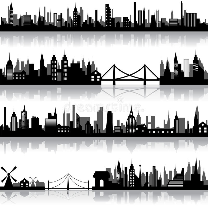 Download Vector City Scape stock vector. Illustration of cityscape - 24669633