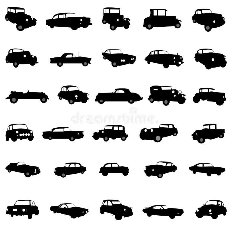 vector clásico del coche ilustración del vector