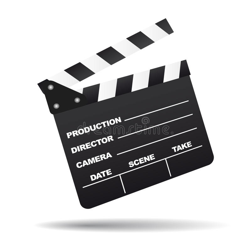 Download Vector clapboard stock vector. Image of illustration - 11933280