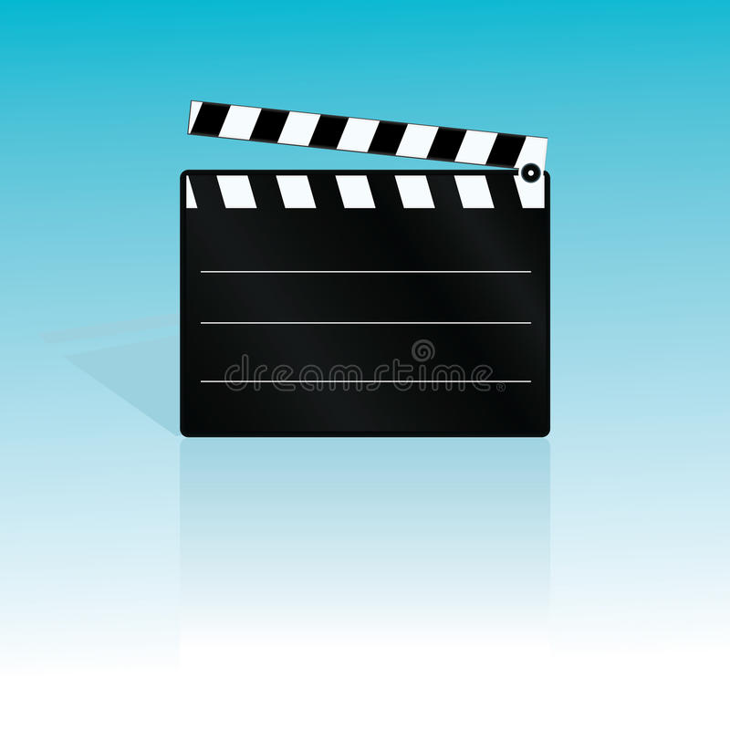 Download Vector Clapboard Royalty Free Stock Photography - Image: 9876487