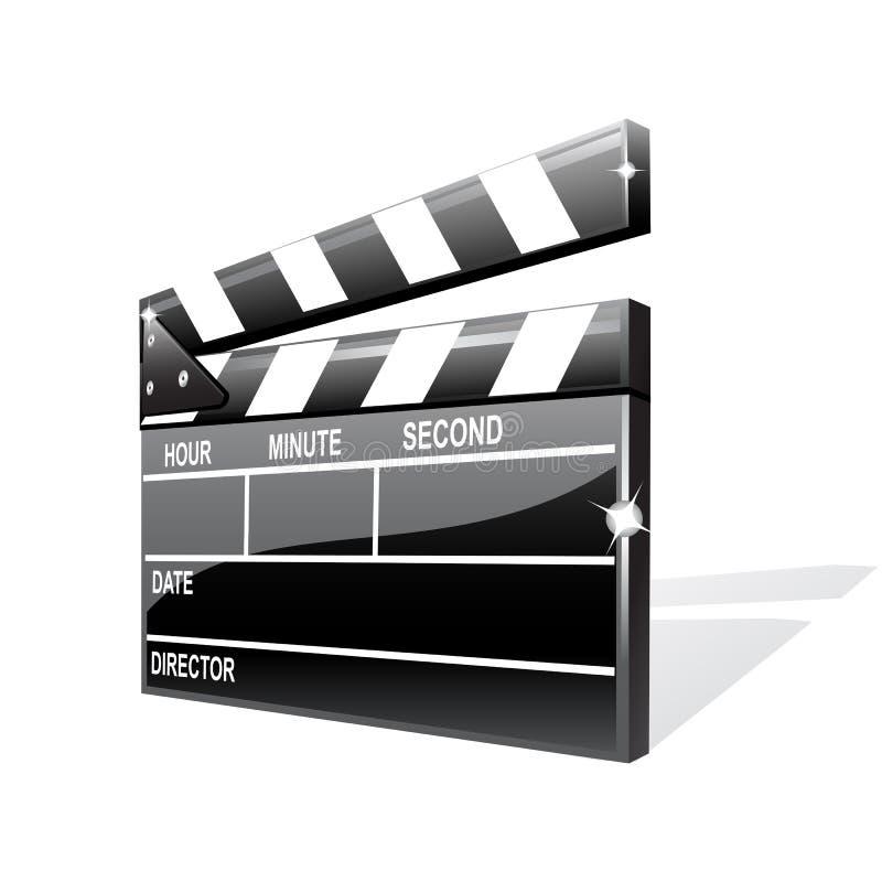 Download Vector clapper board stock vector. Image of clap, clapboard - 13212456