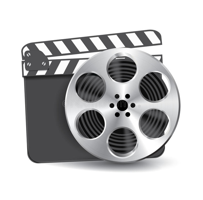 Download Vector  Clapperboard Royalty Free Stock Images - Image: 26370619