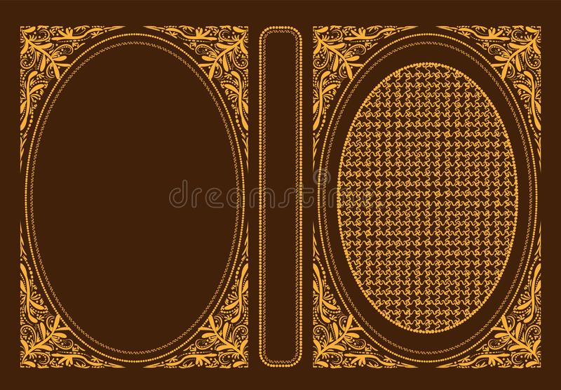 Classic Book Cover Download : Vector classic book covers decorative vintage cover or