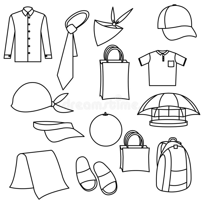 Download Vector cloth stock vector. Illustration of casual, business - 10416791