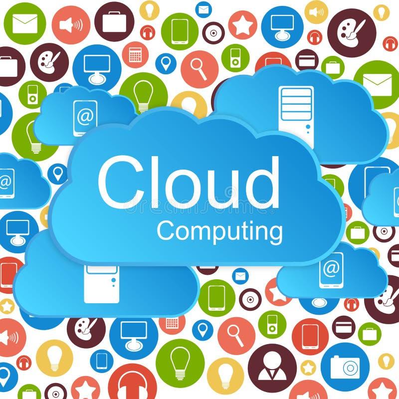 Download Vector Cloud Computing Concept. Modern Design Temp Stock Vector - Illustration of cloud, background: 37541763