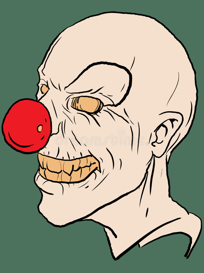 Vector clown stock illustratie