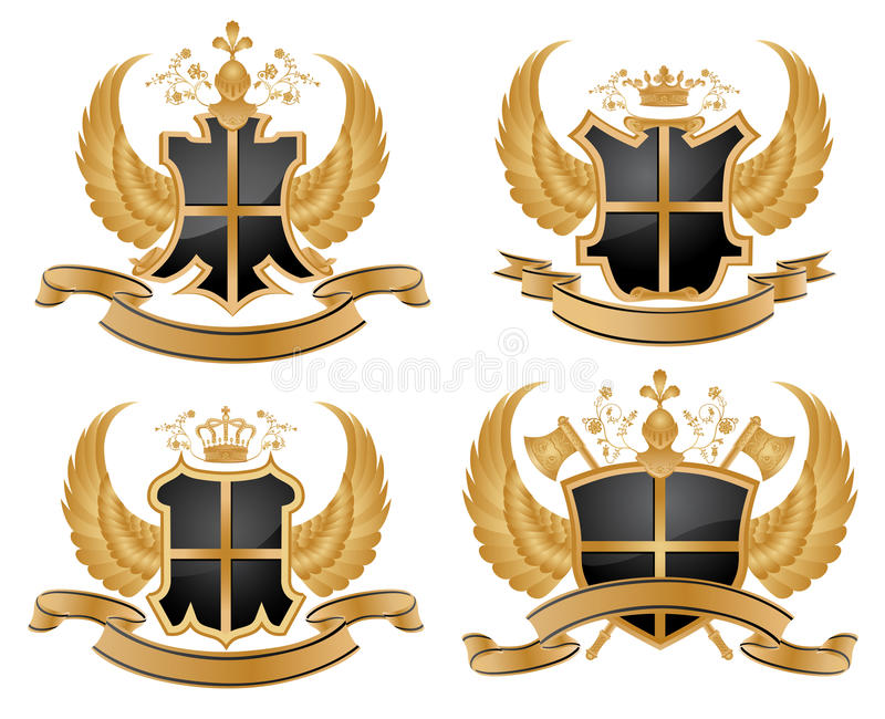 vector coat of arms stock vector illustration of ribbon 9926690 rh dreamstime com coat of arms vector free download coat of arms vector free download