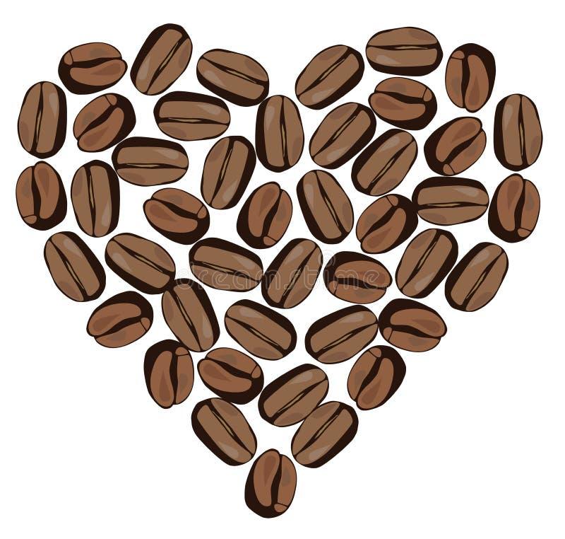 Vector Coffee Beans stock illustration