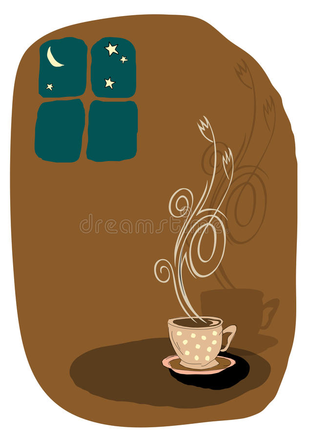 Download Vector coffee illustration stock vector. Image of coffee - 9725363
