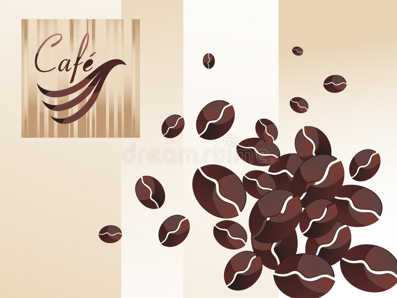 Vector coffee set royalty free illustration