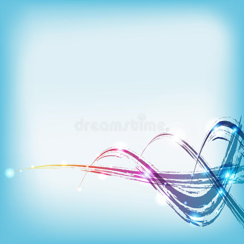Download Vector: Color Paint Water Wave Stock Vector - Image: 23548106