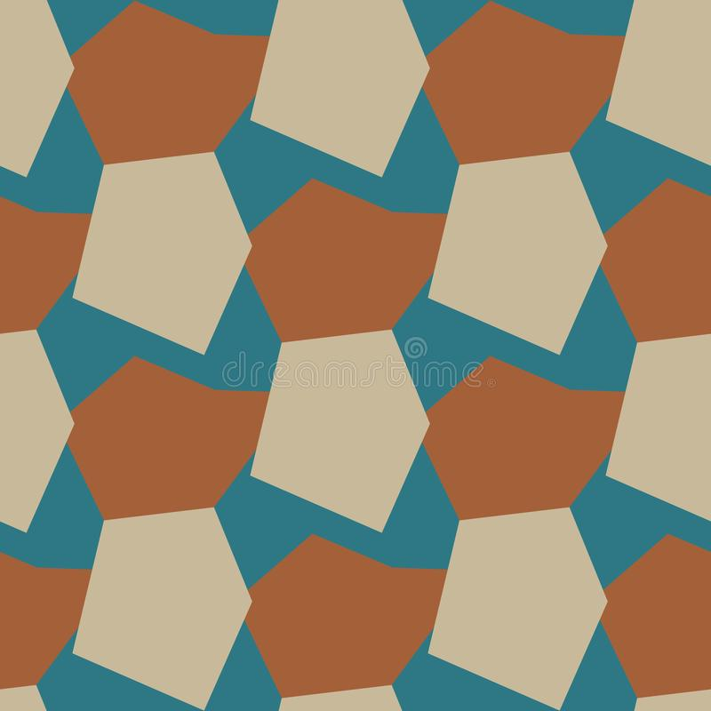 Vector color seamless pattern. Geometric background. vector illustration vector illustration