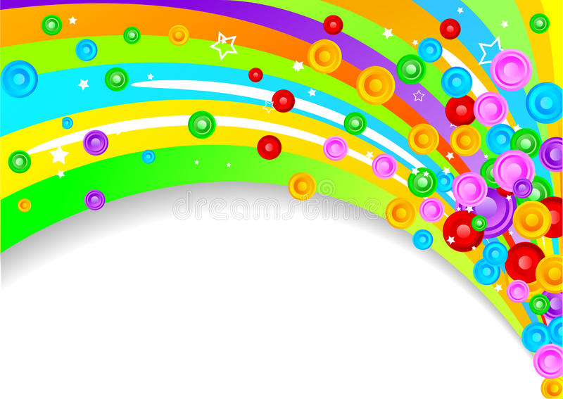 Vector colorful background vector illustration