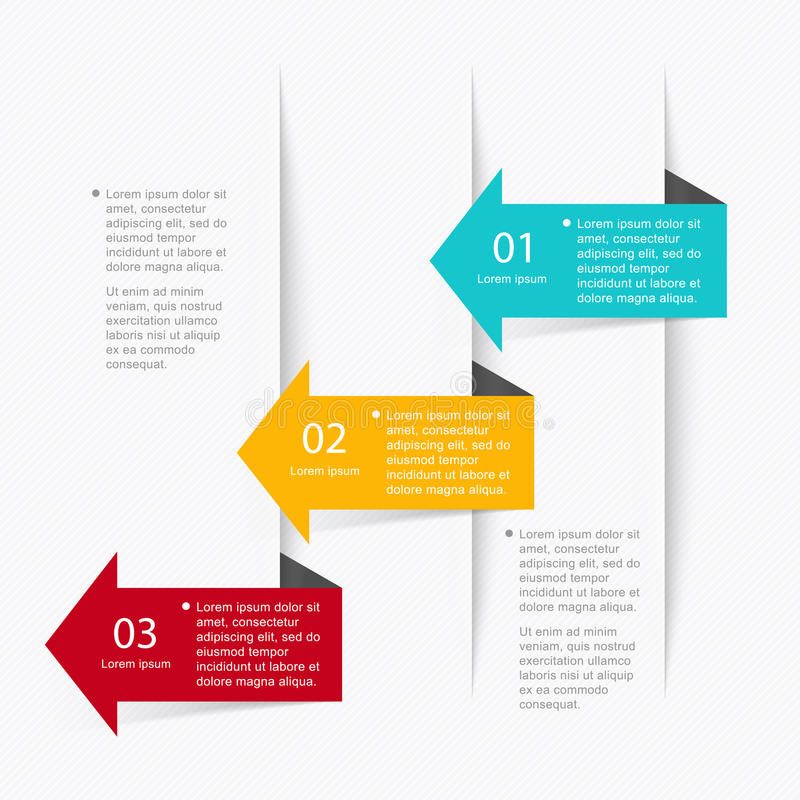 Vector colorful info graphics for your business presentations. Can be used for info graphics, graphic or website layout vector, numbered banners, diagram vector illustration